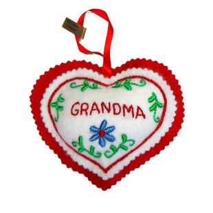 heart shaped ornaments wayfair