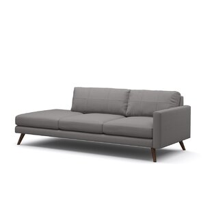 Dane One-Arm Sofa With Chaise by TrueModern