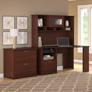 Hillsdale 3-Piece Corner Desk Office Suite by Red Barrel Studio Coupon