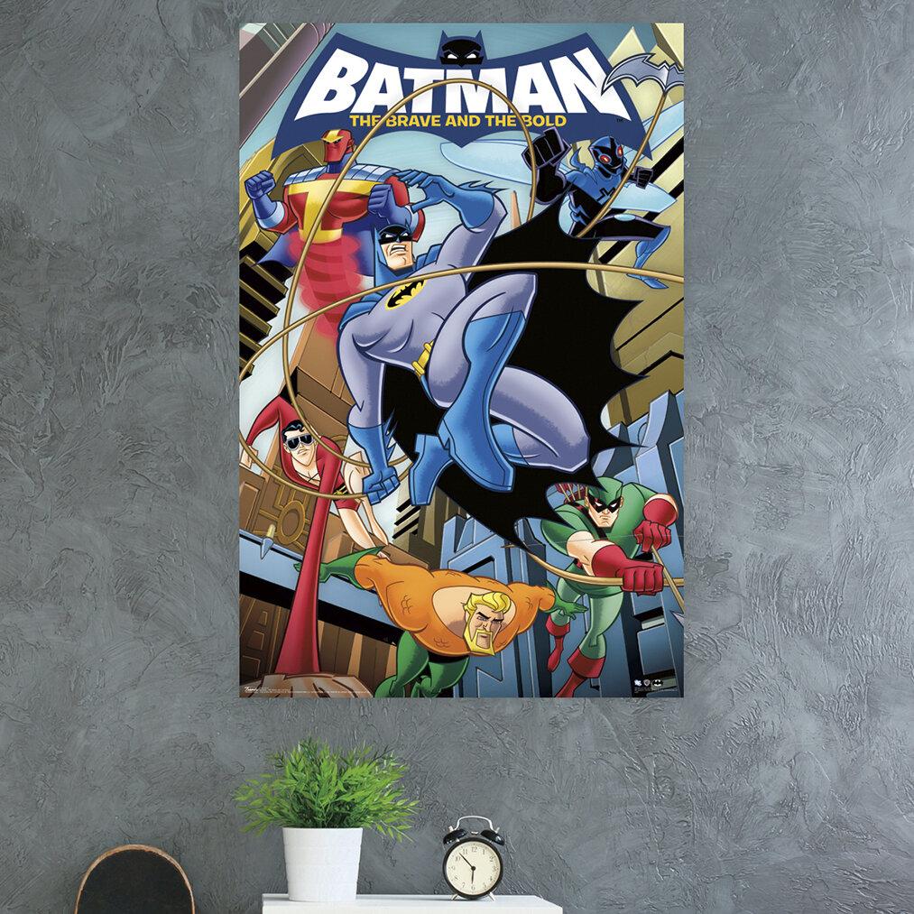 Trends International Batman The Brave And The Bold Paper Print Wayfair