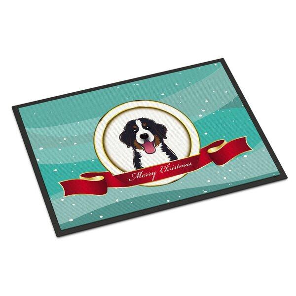 Dog Christmas Door Mat Wayfair