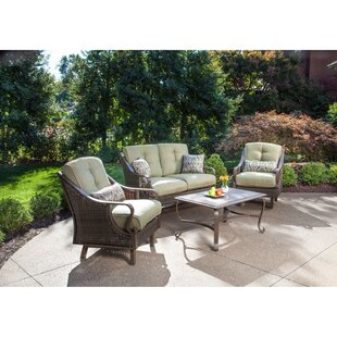 Sherwood 4 Piece Sofa Set With Cushions by Three Posts Cool