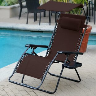 Oversized Olefin Folding Zero Gravity Chair (Set of 2)