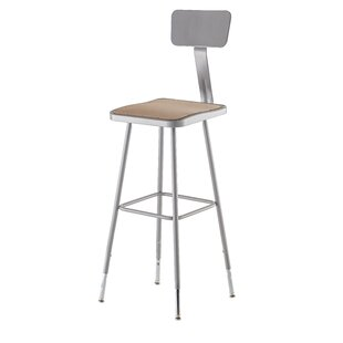 6300 Series Hardboard Stool by National Public Seating