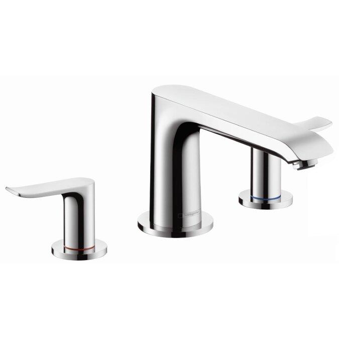 Hansgrohe Metris Two Handle Deck Mounted Roman Tub Faucet & Reviews ...