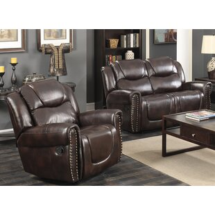Allegra Reclining 2 Pieces Living Room Set Red Barrel Studio