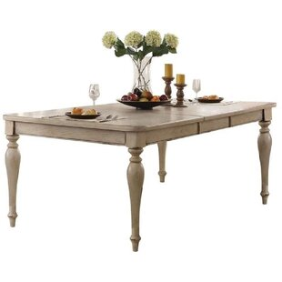 Ryleigh Wooden Top Extendable Dining Table Ophelia & Co.