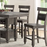 Doney Solid Wood Counter Stool (Set of 2) by Gracie Oaks