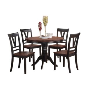Wilburn 5 Piece Dining Set by Winston Porter Discount
