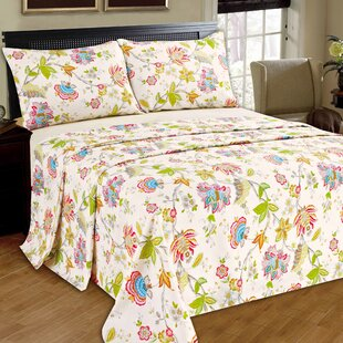 Sprague-Story 100% Cotton Flat Sheet Set