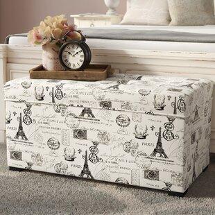 Purchase Pavot Upholstered Storage Bench ByLark Manor