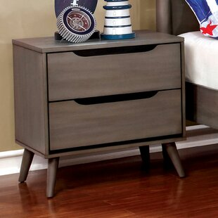 Eisen 2 Drawer Nightstand