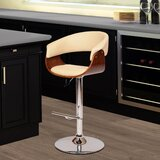 Wingert Adjustable Height Swivel Bar Stool by Corrigan Studio®