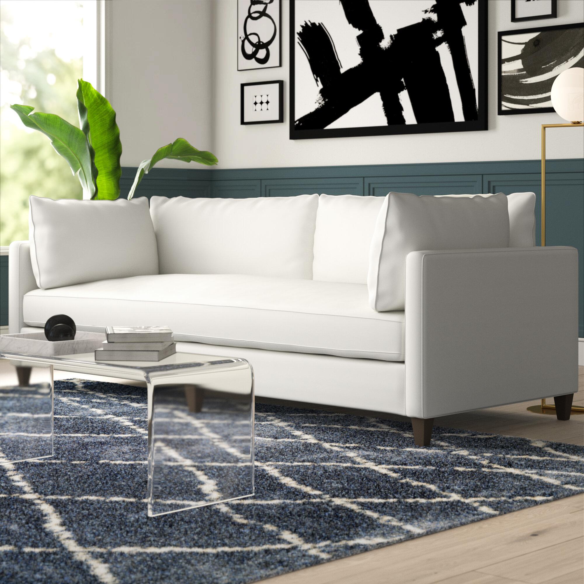 North Burnet Gateway 100 Square Arm Sofa Reviews Joss Main