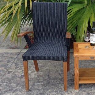 Bali Teak Patio Dining Chair