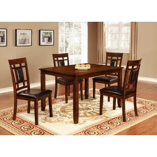 Ighli 5 Piece Dining Set World Menagerie