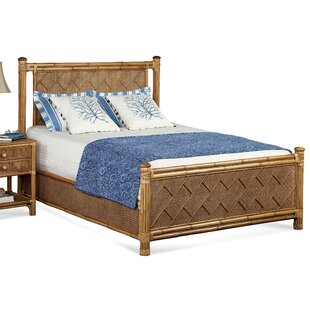 Summer Retreat Chippendale Panel Bed by Braxton Culler