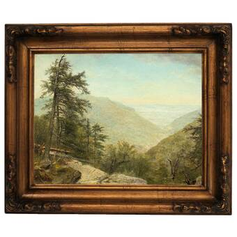 Vault W Artwork Kaaterskill Clove 1866 By Asher B Durand Picture Frame Painting Print On Canvas Wayfair