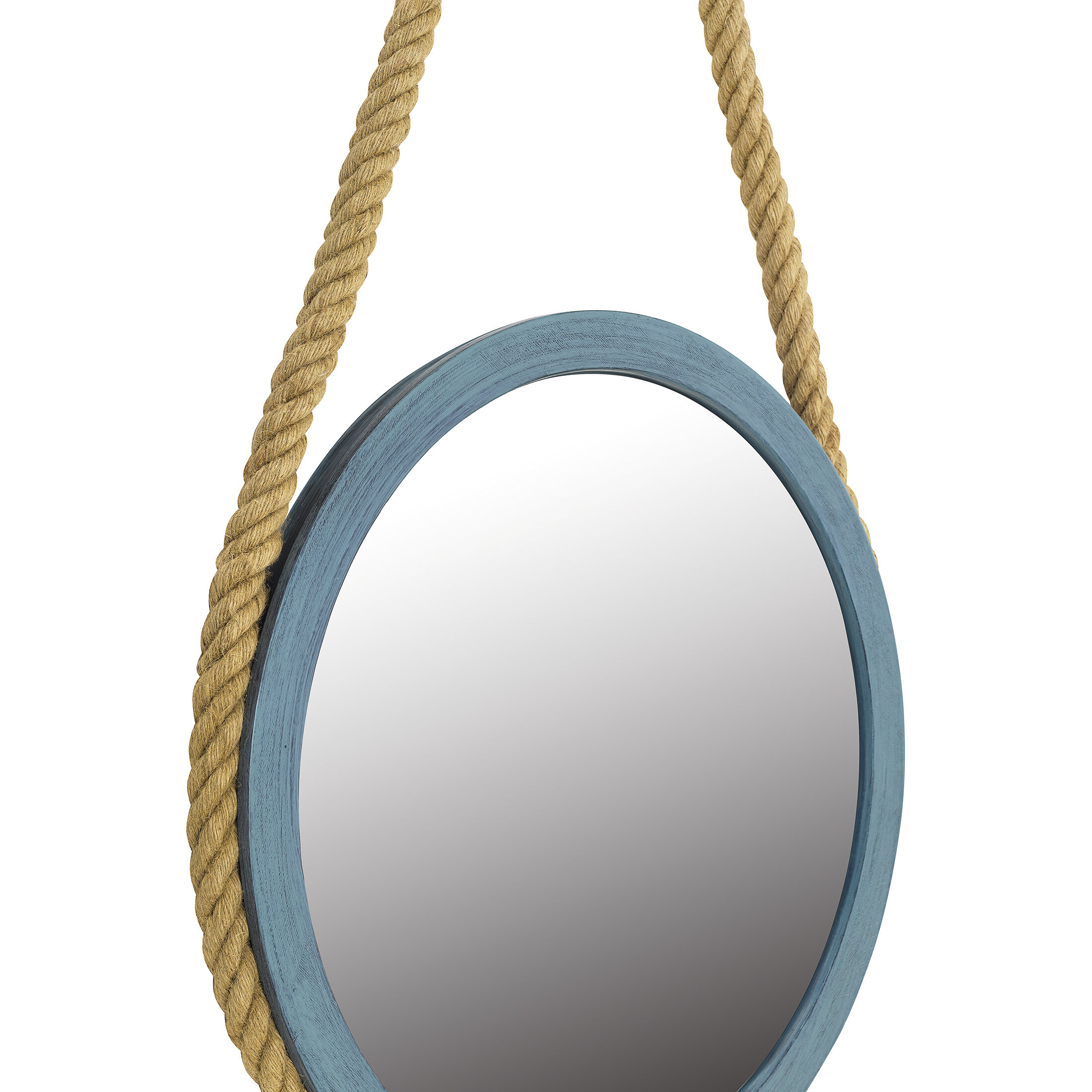 Longshore Tides Theon Modern And Contemporary Wall Mounted Mirror Wayfair