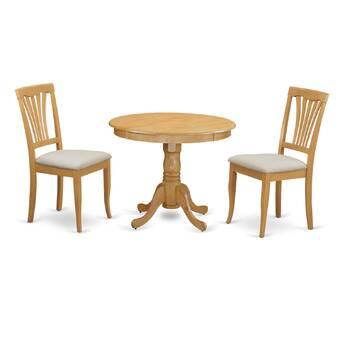 Charlton Home Stlouis 3 Piece Dining Set Reviews Wayfair Ca