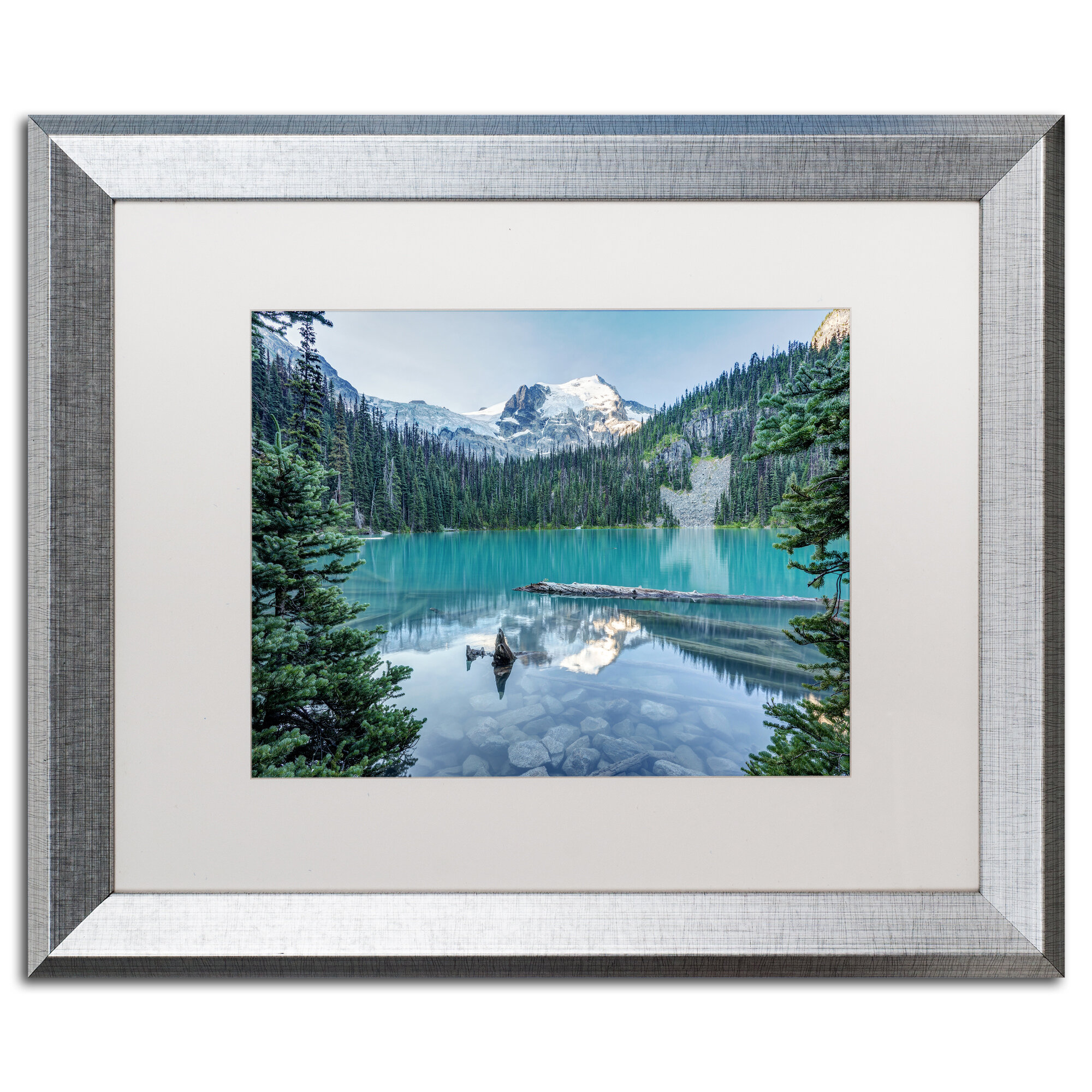 Trademark Art Natural Beautiful British Columbia By Pierre Leclerc Framed Photographic Print Wayfair