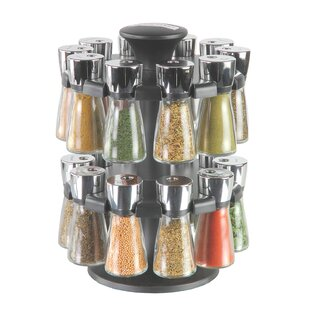 Herb & Spice 20 Jar Spice Jar & Rack Set
