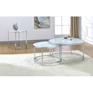 Rayne 3 Piece Coffee Table Set by Steve Silver Furniture
