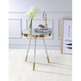 Kleckner Mirror End Table