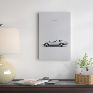 'Toyota 2000GT' Graphic Art Print on Canvas By East Urban Home