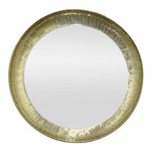Mercer41 Jacobus Metal Wall Accent Mirror