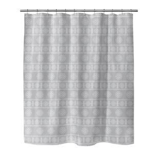 Puleo Shower Curtain by Bungalow Rose