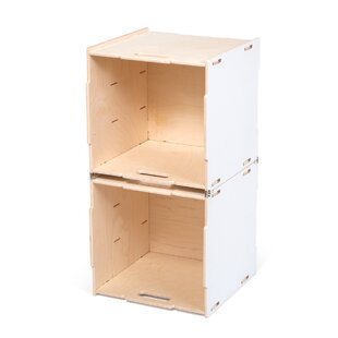 Wooden cubes furniture Solid Wood Storage Quickview Wayfair Stackable Wooden Cubes Wayfair