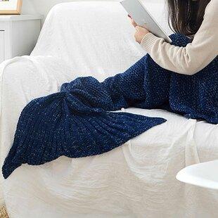 Girls Mermaid Blankets Wayfair
