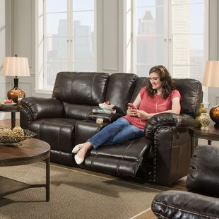 Shop Fisher Reclining Loveseat by Alcott Hill