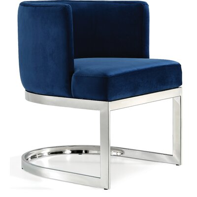 Blue Upholstered Kitchen Amp Dining Chairs You Ll Love In