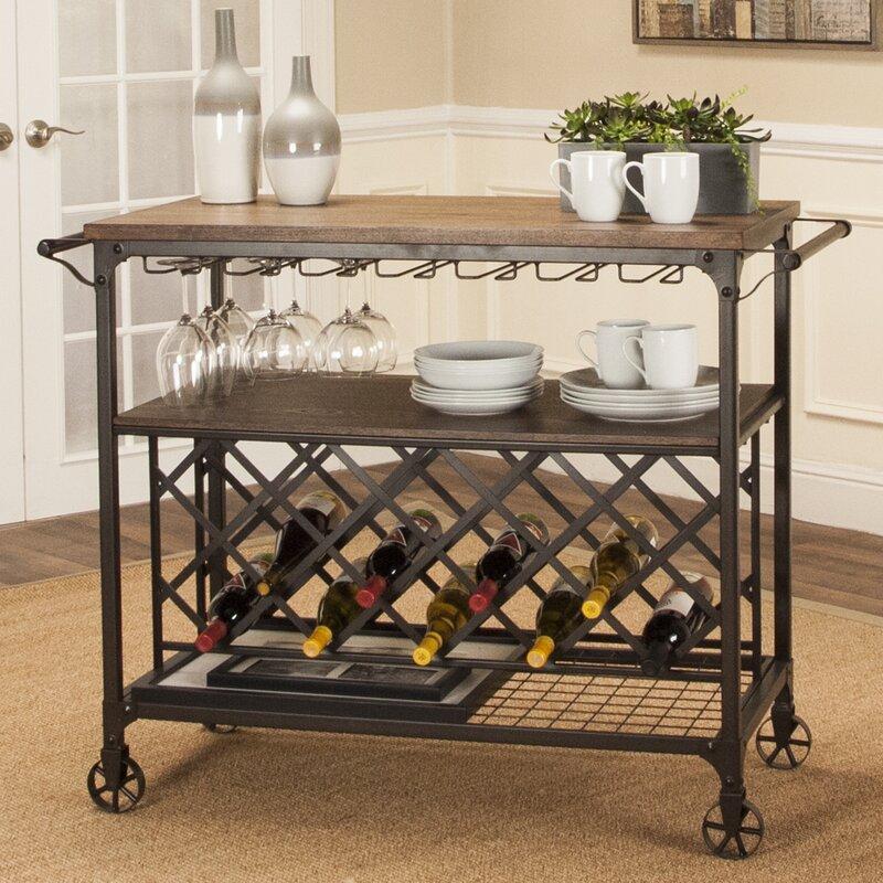 Billancourt Bar Cart