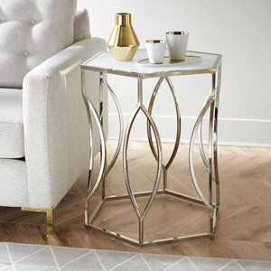 Olander Hexagon End Table
