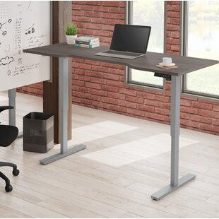 Laney Curved Electric Height Adjustable Standing Desk