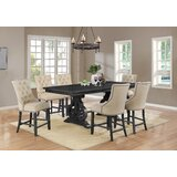 Mccarter 7 Piece Counter Height Extendable Dining Set by Canora Grey