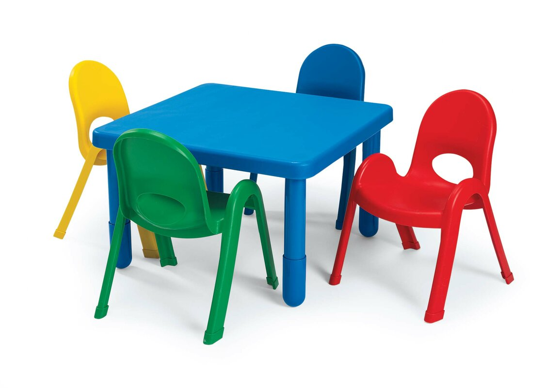 kids table and chair set. angeles kids table and chair set  reviews  wayfair