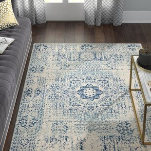Best Huma Blue Area Rug By Willa Arlo Interiors