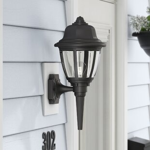 Best Gettinger 1-Light Outdoor Sconce By Andover Mills