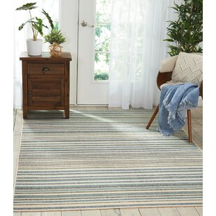 Lido Blue/Cream Indoor/Outdoor Area Rug