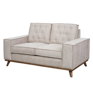 Pamela Welt Trim Loveseat