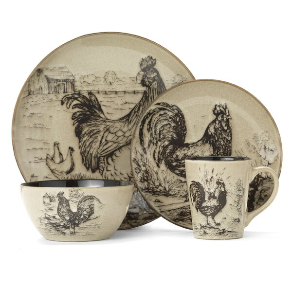 Rooster Pattern Corelle Dishes   Wayfair
