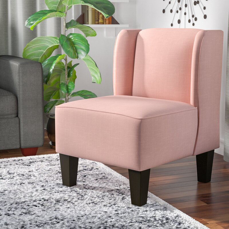 Mistana Landon Winged Slipper Chair & Reviews | Wayfair
