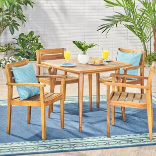 Brianna 5 Piece Dining Set