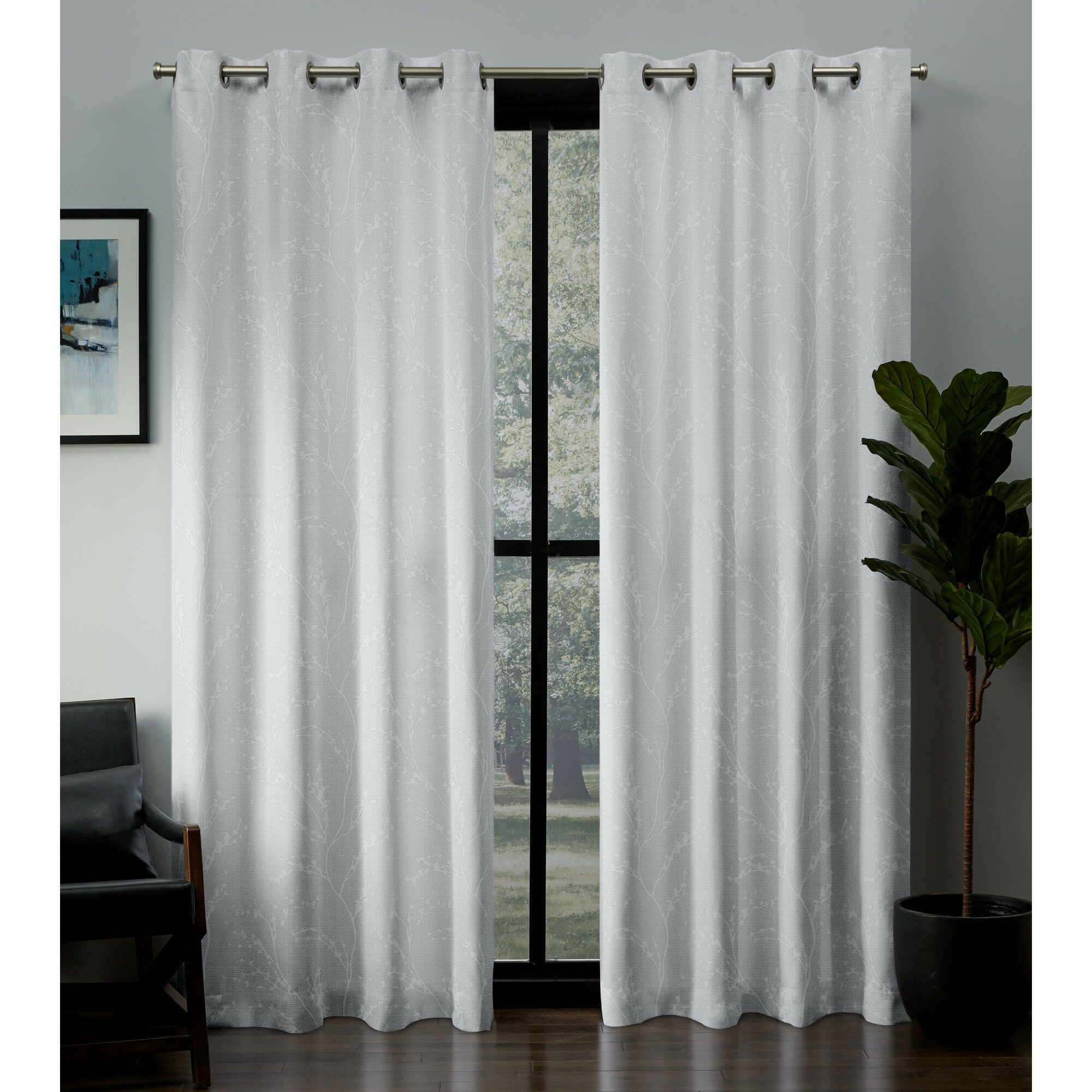 Modern Farmhouse Curtains Drapes You Ll Love In 2020 Wayfair