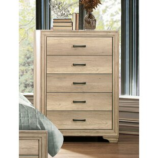 Thill Wooden 5 Drawer Chest by Union Rustic