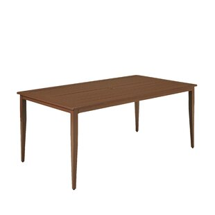 Mauricio Metal Dining Table by Longshore Tides